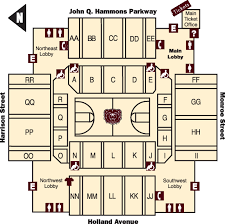 Jqh Seating Chart Hsc Seating Chart Hammons Student Center Missouri State