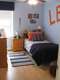 Small Kids Bedroom Bedroom Extraordinary Kid Blue And Orange Bedroom Decoration