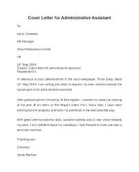 Cover Letter For Admin Clerk Cover Letter For Administrative Position In Education System Admin