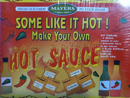 yourself hot sauce kit by mayer