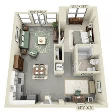 Image result for studio apartment floor plans 500 sqft