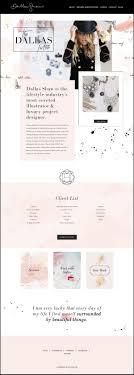 Best Blog Design Examples 10 Best Example Squarespace Websites Feminine Edition
