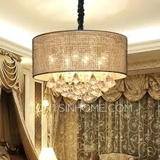 amazing crystal drum shade chandelier or classy drum shade chandelier with crystals 41 47 silver mist
