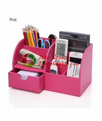 Desktop Organizer Stationery Storage Box Pencil ...