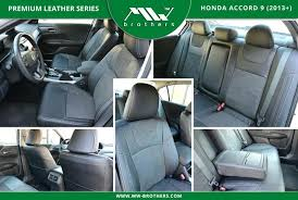 honda accord leather seat covers accent photo 1 2016 replacement