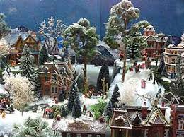 Christmas Tree Village Display Stands Building Display Stands Christmas Village Displays 31