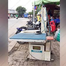 Thanh lý bộ 3 máy may + máy vắt sổ + bàn ủi hơi nước công nghiệp -