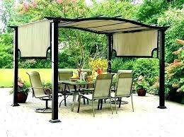 diy backyard canopy shade canopy patio canopy decorative pergola shade canopy set of 2 retractable outdoor