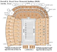 Texas Dkr Memorial Stadium Seating Chart 21 Precise Dkr Memorial Stadium Seating