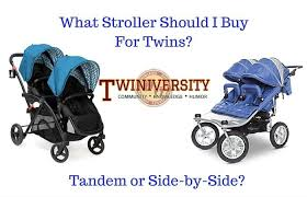 What Stroller Should I Buy For Twins? Tandem or Side-by-Side ...