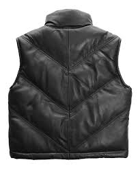 love this product black leather chevron bubble vest toddler boys