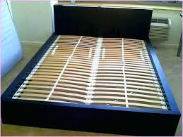 King Size Bed Slats King Size Bed Frame Plans How To Build Step By ...