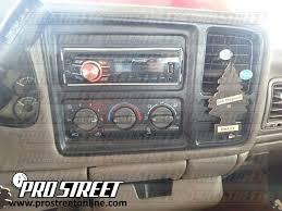 how to gmc sierra stereo wiring diagram my pro street 2000 gmc sierra 1500 radio
