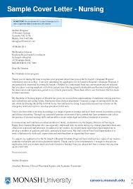Cover Letter Sample Cover Letter For Nursing Job New Graduate