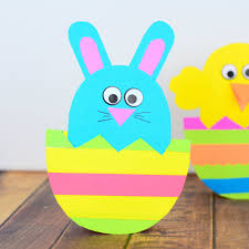 Easter Template Chick And Bunny Rocking Easter Egg Diy Templates Astorbrights