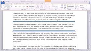 Formatting A Resume In Word 2010 Adding Double Horizontal Lines In Word 24 YouTube 21