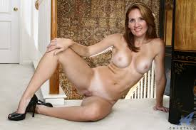 Anilos Crystal Hot mama Crystal teases us by showing off her fuck.