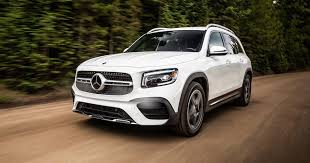 The ice drives the front wheels of the vehicle. 2020 Mercedes Benz Glb Class First Ride Just Right Sized Suv Roadshow