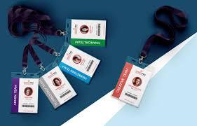 Lanyard Badge Design True Id Employee Id Badges Custom Card Designs