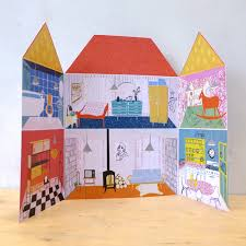 Four Little Walls The Printed Peanut Paper Doll s House