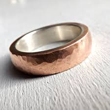 hipster wedding rings. mens ring copper band, wedding ring, c hipster rings