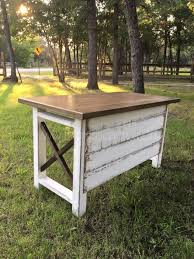 rustic desk home office. custom built farm house desk shiplap front college station tx the rustic home office