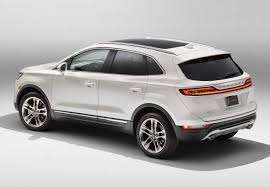 2018 lincoln suv. fine lincoln 2018 lincoln mkc rear throughout lincoln suv i