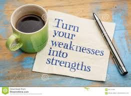 turn your weaknesses into strengths stock photo image  turn your weaknesses into strengths