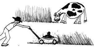 lawnmower drawing. saatchi art artist kevin butler; drawing, \u201clawnmower vs lawnmower\u201d #art lawnmower drawing
