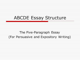 background information  expository writing seeks to communicate  the five paragraph essay for persuasive and expository writing