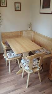 dining table corner benches and two chairs