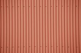a painted corrugated panel for porch ceiling