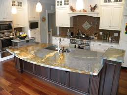 Of Granite Kitchen Countertops Waterfall Countertop Granite Countertops Marble Countertops