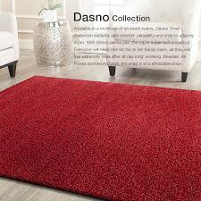 large red gy rug super soft thick plush louges carpet mat 200x290cm