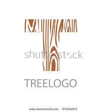 wood furniture design logo. logo letter t, wood furniture. vector illustration, concept of saw cut tree trunk furniture design