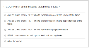 Tco 2 Which Of The Following Statements Is False Chegg Com