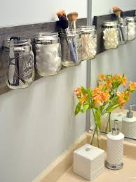 Things To Put In Jars For Decoration Brilliant Small Space Organization Ideas HGTV's Decorating 46