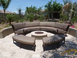 outdoor sectional metal. Homey Design Curved Patio Furniture Covers Canada Cushions Wicker Loveseat Couch Metal Outdoor Sectional I