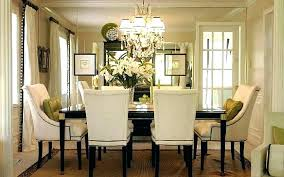 dining room chandeliers height chandelier above table image of