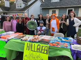 How To Have A Bake Sale Family Raises 1 800 At Annual Halloween Bake Sale Northport Ny Patch