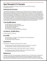 Radiation Therapist Resume Cv Template Therapist Massage Therapist Jobs Radiation