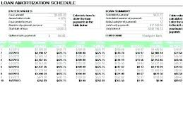 amortization loan calculator car loan calculator excel template payment schedule amortization