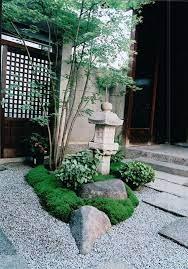 small japanese garden zen rock garden