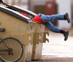 on dumpster diving dumpster dive becca dumpster 2
