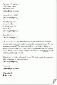 Formal Business Letter Block Format World Of Example