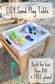 bring the beach to your yard this summer with this easy diy sand table