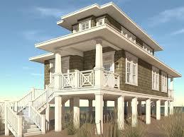 coastal house plans. Beach House Plan, 052H-0105 Coastal Plans