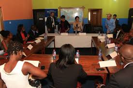 ethel cofie a round table conference with us secretary of commerce
