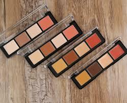 make up for ever pro sculpting face palette 20 light 30 um 40 tan