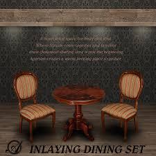 Inlaid Dining Table Import Interior Aper Son Rakuten Global Market Dining Set Italy